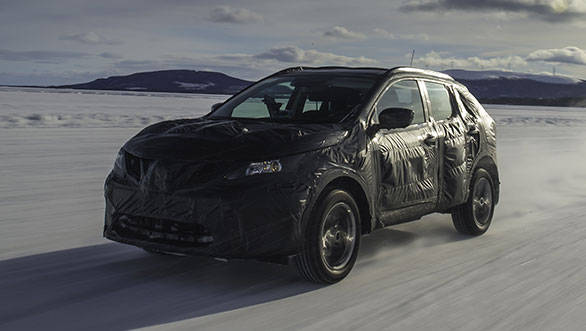 The new Qashqai could be powered by tweaked engines of the outgoing model