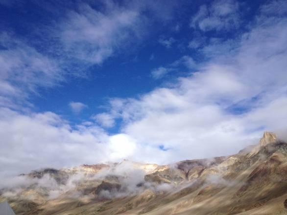 Ladakh's landscape spoils you. It's hard to stand suburban Mumbai's casata buildings after this