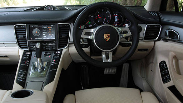 The Panamera boasts some of the best interiors of any Porsche
