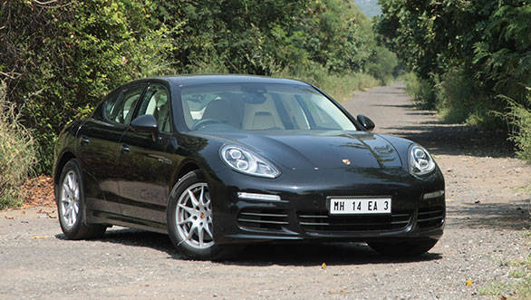 Striking front end is instantly identifiable as a Porsche