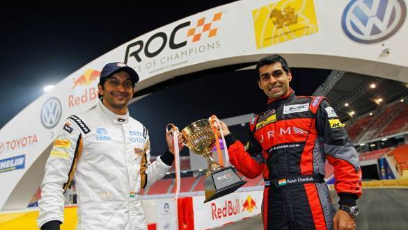 Narain and Karun set for Race of Champions 2013