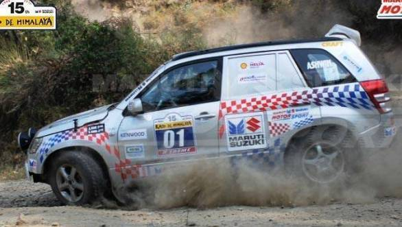 Suresh Rana and Ashwin Naik currently lead the Raid de Himalaya
