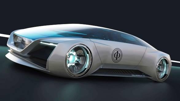 The Audi fleet shuttle quattro for 'Ender's Game'