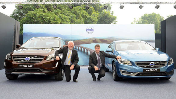 Volvo India launches new 2014 S60 at Rs 29.9 lakh and XC60 at Rs 40.5 lakh