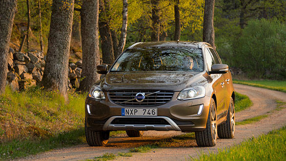 2014 Volvo XC60 was first shown at the Geneva Motor Show earlier this year