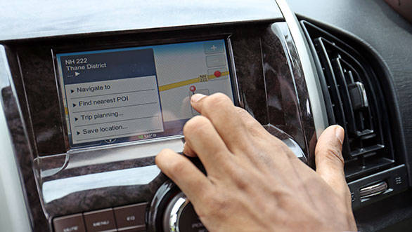 The XUV is loaded with features like touchscreen satnav, start/stop and ESP