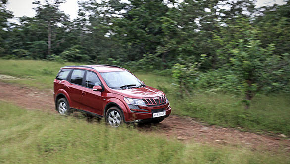 The XUV's ride quality is good, but it works well in a narrower band