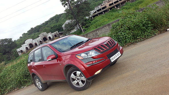 2013 Mahindra XUV500 in India