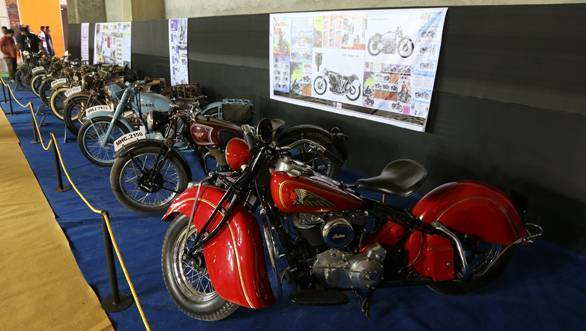 Stunning vintage motorcycles at India Superbike Festival 2013