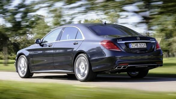 The car has AMG speed-sensitive sports steering, AMG forged lightweight alloys and AMG high-performance braking system