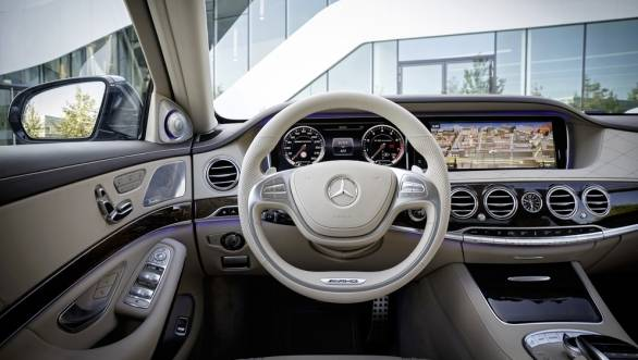 Head-up display and a touchpad are two new debuting features