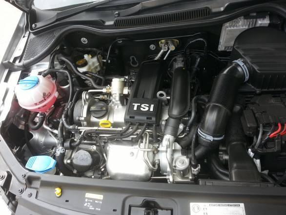 Vento TSI engine
