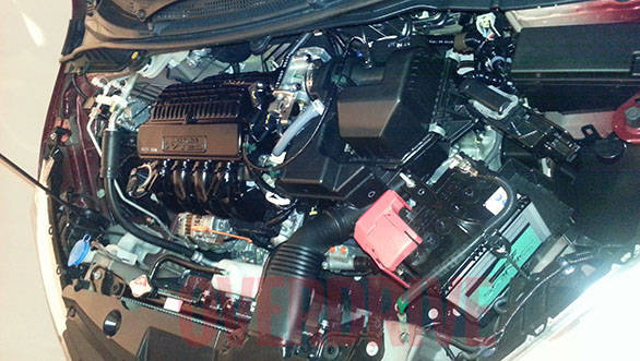 Updated i-VTEC engine now makes nearly 120PS of power