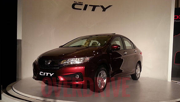 The new City derives inspiration from the current-gen Civic sold internationally and also the current-gen City