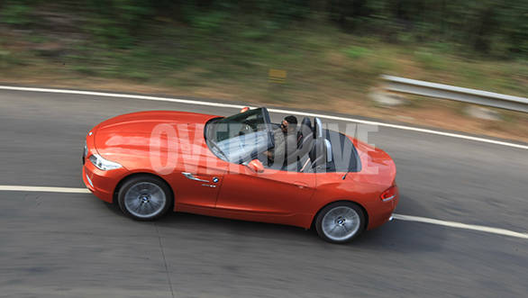 2014 BMW Z4 sDrive35i India road test