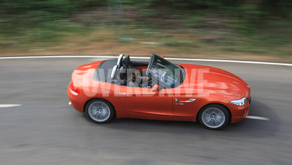 With the top down, the Z4 becomes even more involving to drive especially around corners