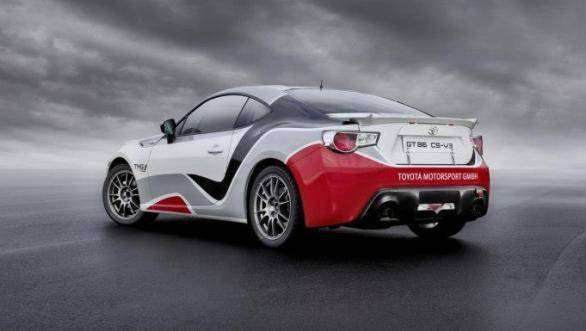 The TMG GT86 CS-R3 is targeted at private customers and is eligible for all FIA-sanctioned rallies, up to and including the WRC