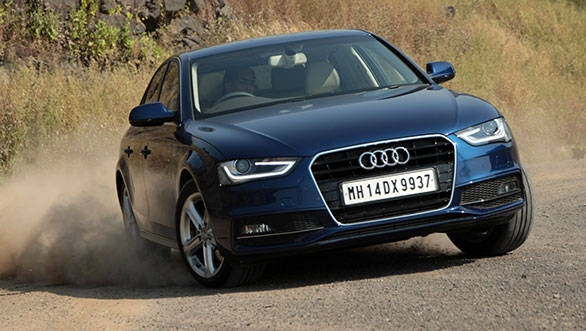2013 Audi A4 177PS 2.0TDI India road test