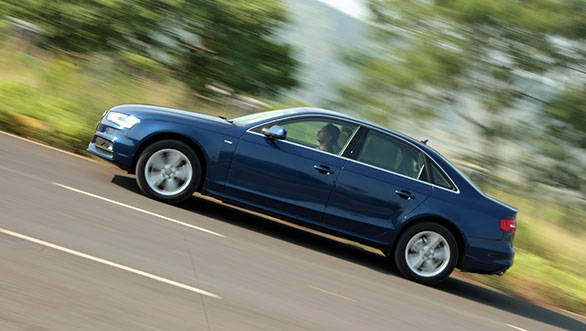 In our performance tests, the 177PS A4 completed the 0-100kmph run in 8.9s, almost a second quicker than the 143PS A4