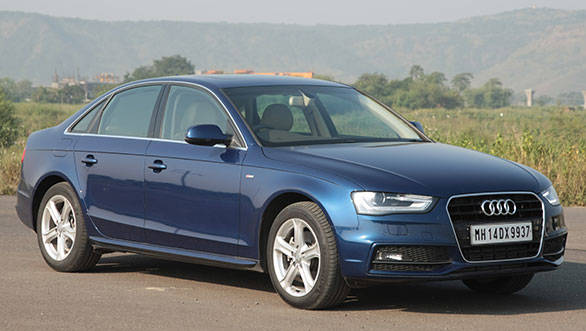 Top speed for this A4 is a claimed 222kmph, which again is an improvement; around 12kmph to be exact