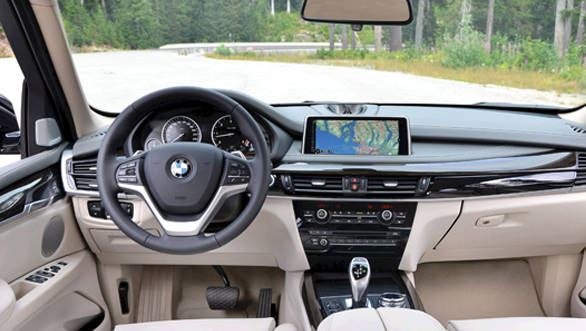 The cabin is airy and smartly executed.  The dashboard is curvier than before.