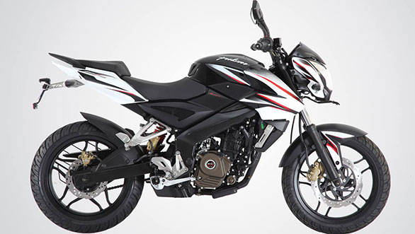 The Pulsar 200NS white and black edition
