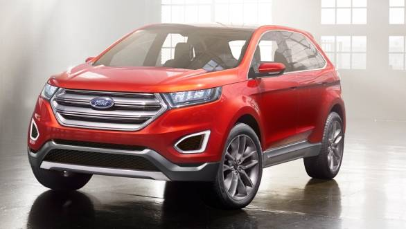 The Ford Edge Concept was nearly production-ready when it premiered at LA