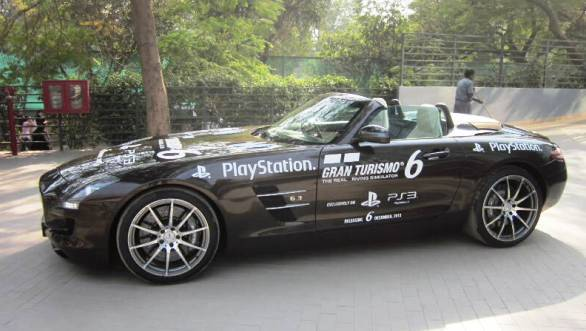 Sony and Mercedes come together to organise a 'GT6 Racing Challenge' in India
