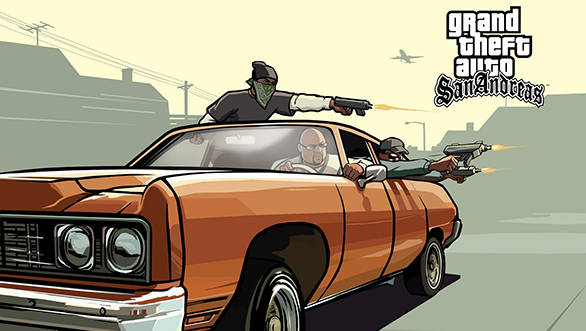 The game featured the typical GTA mix of cars, violence and a massive free roam environment