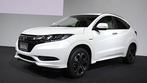 Honda Vezel image used as an illustration