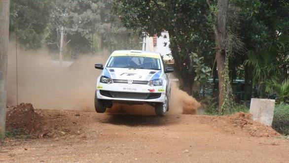 The Polo R2, piloted by Karamjit Singh, made its INRC debut at the K1000