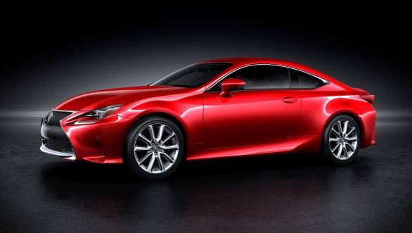 Lexus brings new RC coupe and LF-NX Turbo to the Tokyo Motor Show 2013