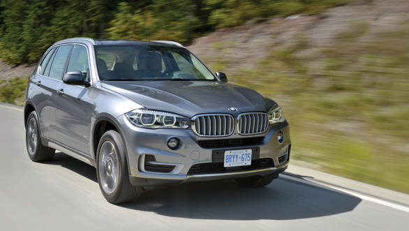 The 2014 BMW X5 has been launched in India