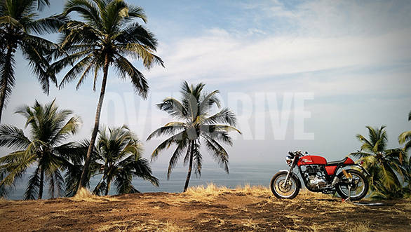 Video: Royal Enfield Continental GT in Goa