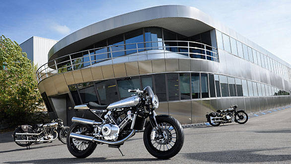Brough Superior SS100 revealed at Milan, to launch next year