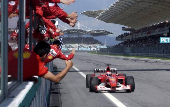 Statistically the greatest F1 driver ever, Schumi's records are now Vettel's for the breaking