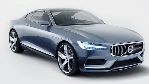 The XC90 will be styled based on the Coupe Concept shown here