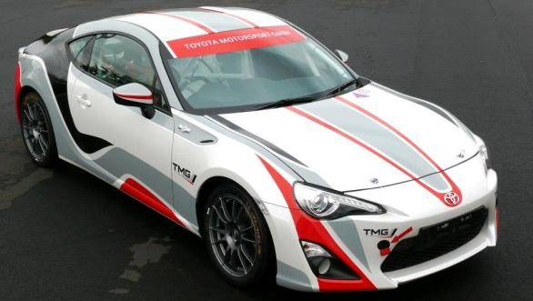 Toyota claims that its customers will have the car ready to compete with in the 2015 edition