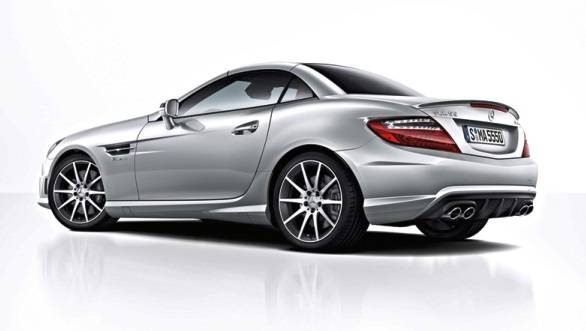 The newest model of the SLK55 AMG is the most powerful as compared to its earlier siblings