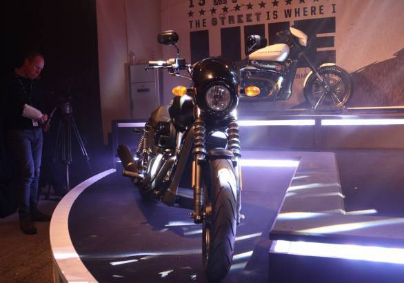 The H-D Street 500 will be launched in India mid-2014
