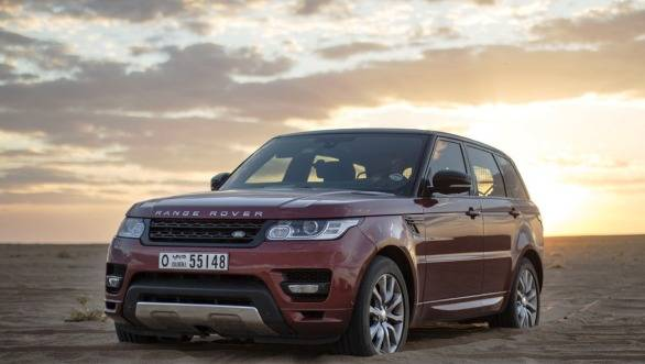 The Range Rover Sport at the Empty Quarter