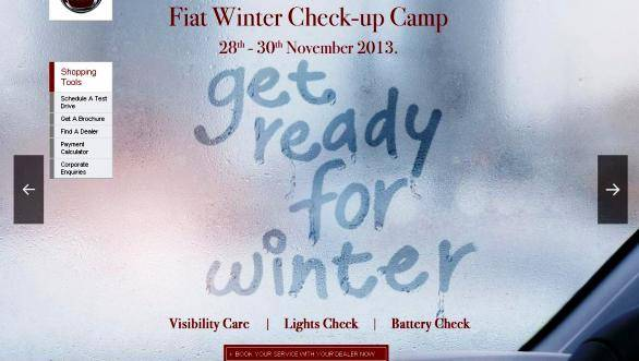 Fiat India organises Free Winter Checkup Camps