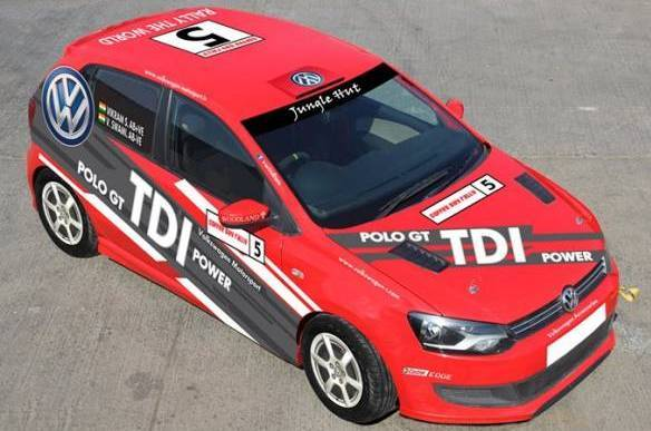 Volkswagen brings GT TDI to Chikmagalur Rally