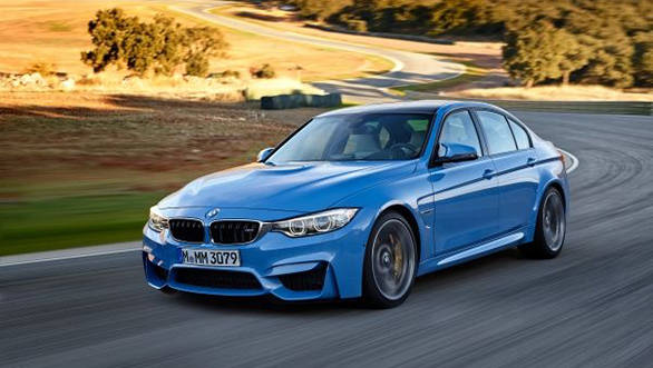 2014 BMW M3 saloon in pictures
