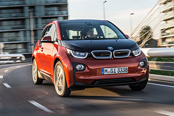 The i3 clearly stands out here thanks to its unique looks. The lines are unconventional; the look, a bit bulbous; and it isn't something that people will fall in love with from the word go.