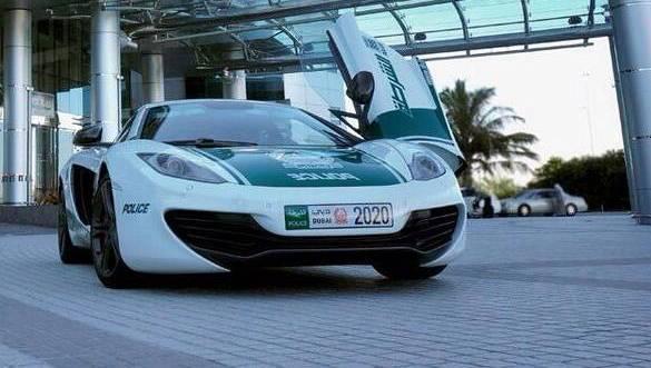 McLaren MP4-12C is the latest addition to Dubai Police's supercar fleet