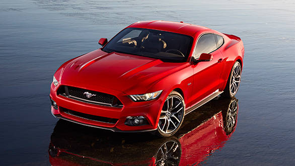 The 2015 Mustang comes with 3 engine options
