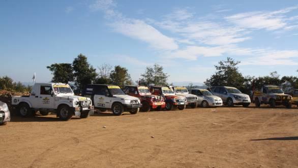 Hill thrills - 2013 Hornbill Rally