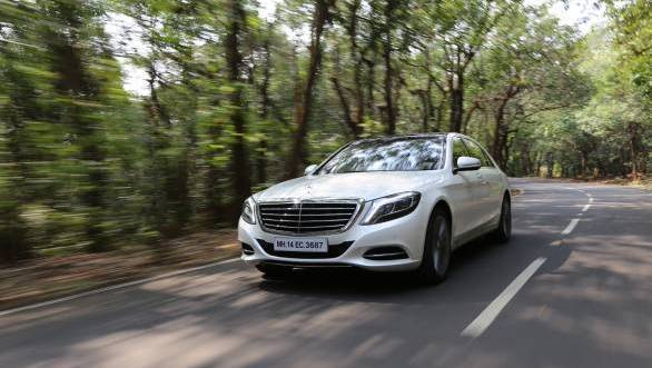 2014 Mercedes-Benz S-Class India road test