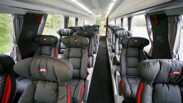 Uber Luxurious Scania 7 Star Bus Image Gallery Overdrive